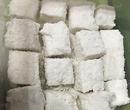 椰子糕的做法