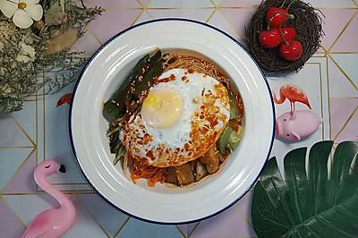 韩式拌饭(低卡减脂菜单)