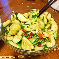 午饭小吃—酸辣拍黄瓜+凉拌黑木耳的做法图解6