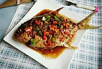 红烧鲳鱼#嗨MilK出山食谱#的做法