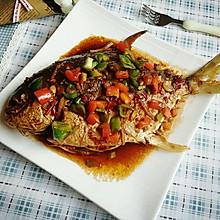 红烧鲳鱼#嗨MilK出山食谱#