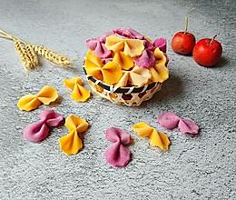 辅食日记-果蔬蝴蝶面的做法