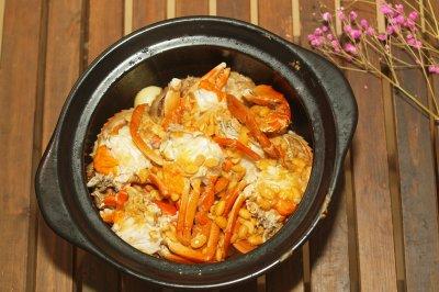 首创于林自然大师的豆酱焗蟹,学会了在中秋节家宴上露一手