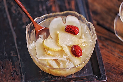 海底椰雪梨银耳汤&杏仁玫瑰蜂蜜茶