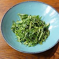 秋葵藜麦牛肉沙拉配苹果菠菜汁的做法图解2