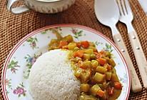 橄露Gallo经典特级初榨橄榄油试用之咖喱饭的做法