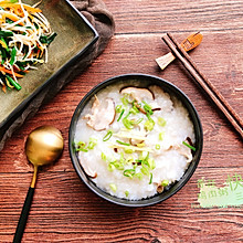 香菇鸡肉粥&快手三丝