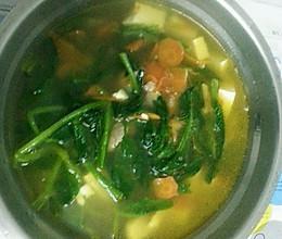 素食汤的做法