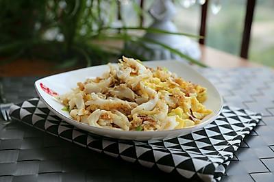鸡蛋炒面条鱼