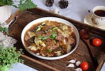 牛肉白菜炖粉条#相聚组个局#的做法