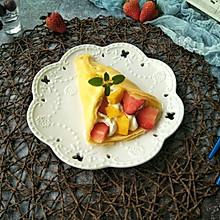 奶油水果卷#做道好菜,自我宠爱!#