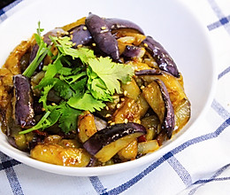 #下饭红烧菜#鱼香茄条 | 既能下饭又能拌面的百搭素菜的做法