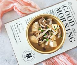 豆腐菌菇汤的做法