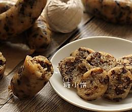 【香菇卤肉糯米肠】的做法