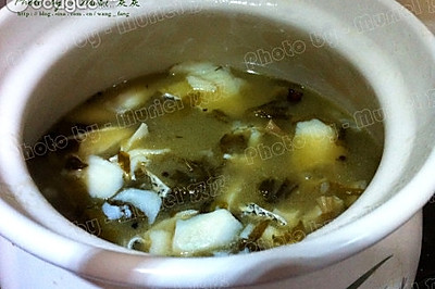 砂锅酸菜鳕鱼