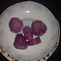 紫薯奶黄糯米糍的做法图解3