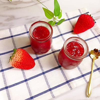 酸甜好吃的草莓果酱