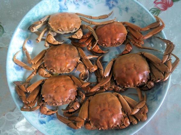 清蒸螃蟹(家常)的做法