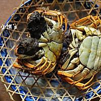 【清蒸大闸蟹】附:螃蟹挑选以及保存法的做法图解1