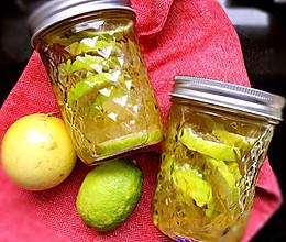 立秋。超簡單檸檬百香果醋。的做法