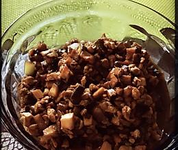 香菇猪肉打卤面的做法