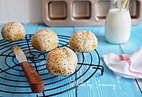 奇亚籽小面包的做法