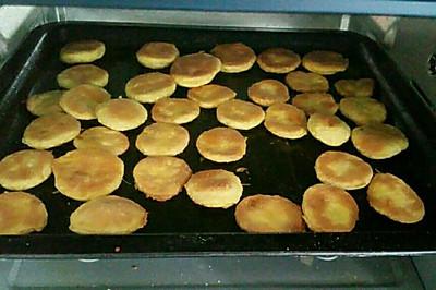 烤芒果餅干