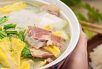 白菜粉丝汤的做法