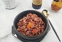 #一起加油,我要做A+健康宝贝#饭菜一锅出~番茄豆乳菌菇杂粮的做法