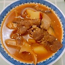 简单易学的家庭版韩式大酱汤