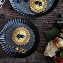#带着美食去踏青#这种酥软,酸酸的乳酪味,蓝莓芝士塔