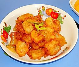 #味达美名厨福气汁,新春添口福#新春宴客菜,软炸虾仁的做法