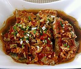 剁椒臭豆腐蒸肉糜的做法