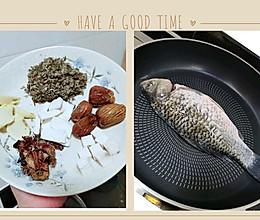 南方湿气重,喝这款绵茵陈木棉花煲鲫鱼汤就最适合了!的做法