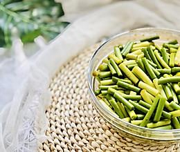 农家小酱菜——百搭下饭腌蒜苔,口感清脆,抗病毒的做法