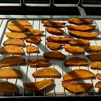 番薯干—小时候的味道