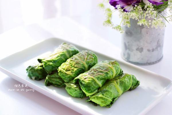 青菜卷卷#樱花味道#的做法