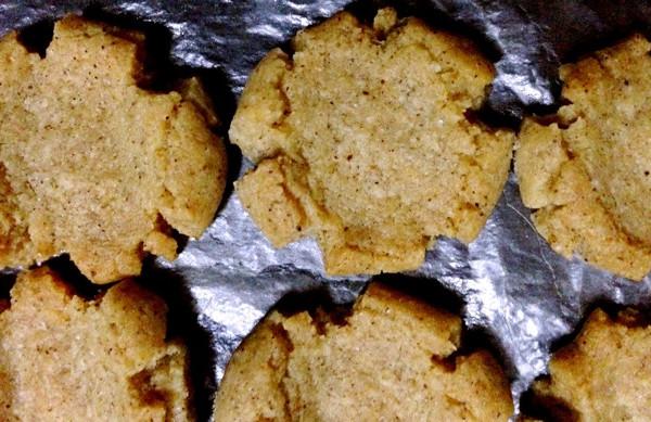 手工绿豆粗粮饼干的做法