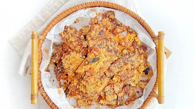海苔肉松锅巴的做法