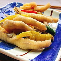 #爽口凉菜,开胃一夏!#泡椒凤爪的做法图解4