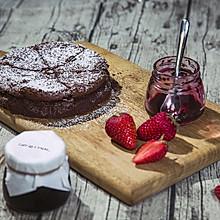 不用面粉做巧克力蛋糕