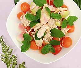 金枪鱼水果沙拉的做法