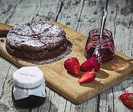 不用面粉做巧克力蛋糕的做法