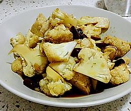 迷迭香干锅花菜的做法