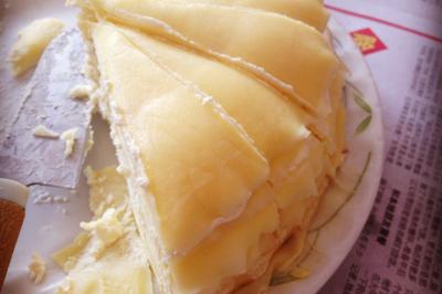 喂食猫の垂涎三尺的千层蛋糕