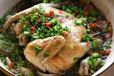 鲜嫩多汁【无水葱油鸡】是气氛年菜!只要30元,20分钟!