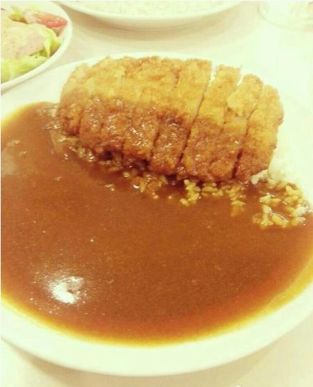 咖喱猪扒饭的做法