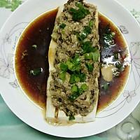 榄菜肉末蒸豆腐的做法图解12