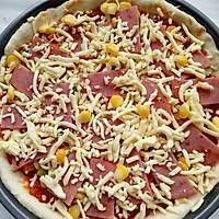 美味火腿披萨的做法图解7