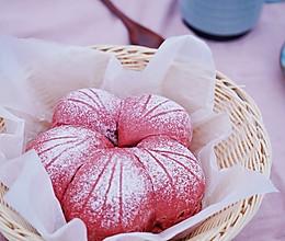 美美樱花面包的做法
